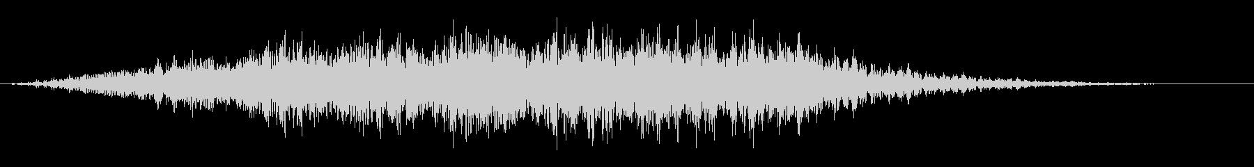 シューッという音EC07_92_1の未再生の波形