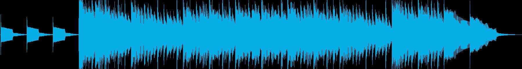 たいむしぐなる【20秒の短い曲】の再生済みの波形