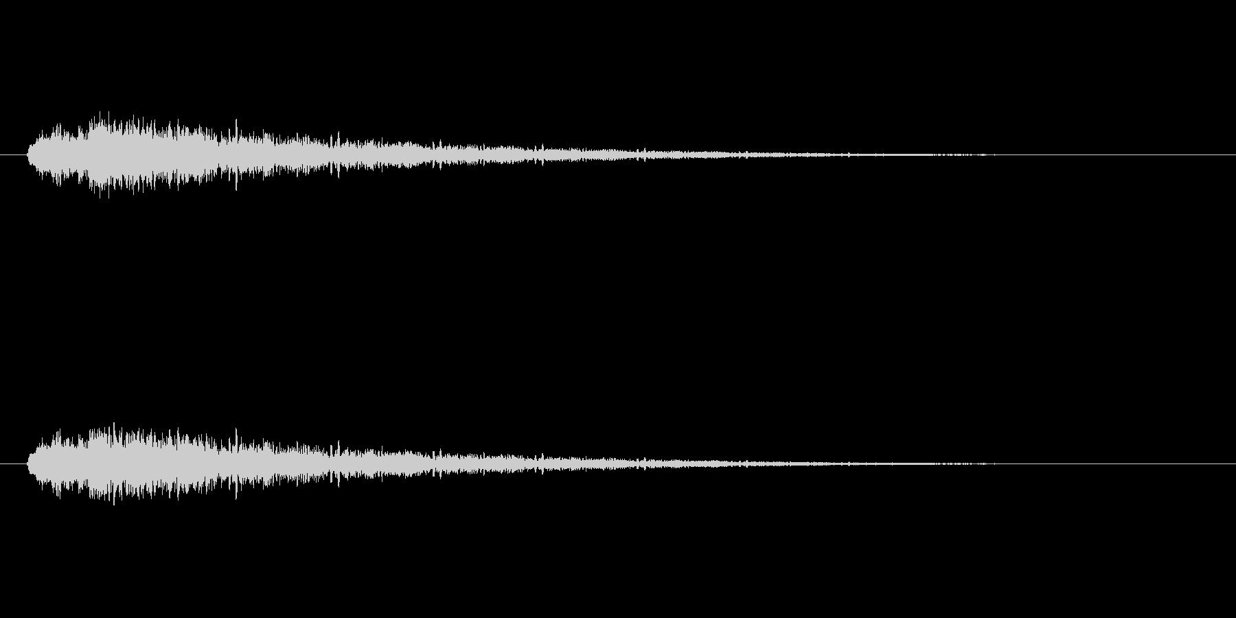 【アクセント30-2】の未再生の波形