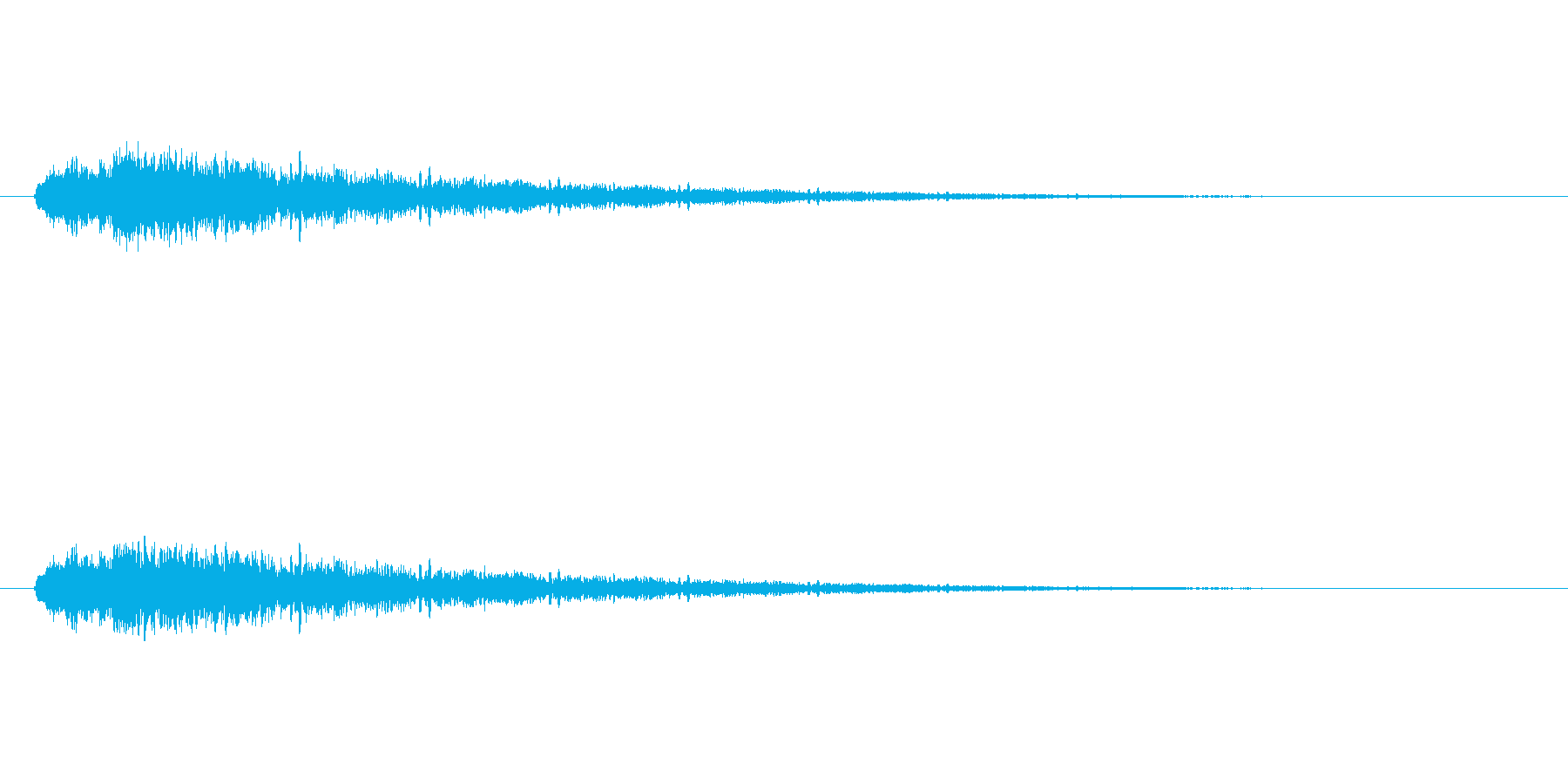 【アクセント30-2】の再生済みの波形