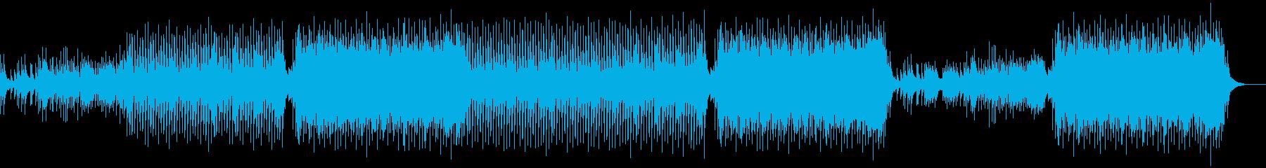 優しく爽やかで疾走感感じる楽曲の再生済みの波形