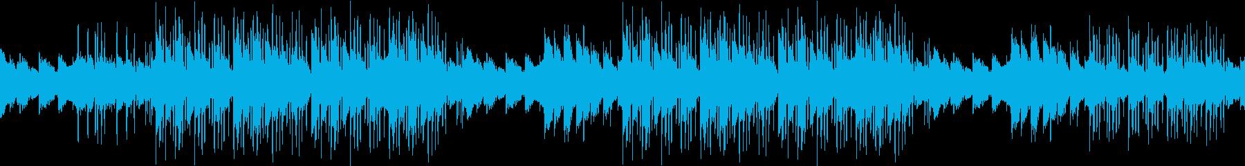バラード・ピアノ・ネガティブ・悩み・苦悩の再生済みの波形