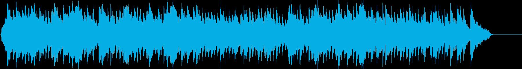 和風 京都 伝統 のどか 田舎 陽ざしの再生済みの波形