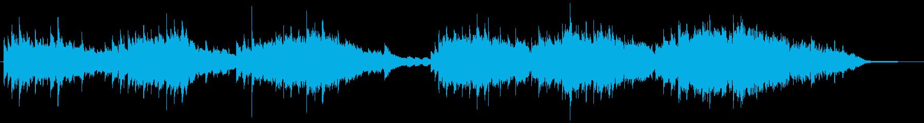 絶望的なオーケストラ曲の再生済みの波形