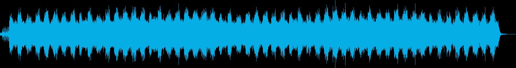 自然音たっぷりの癒やしのヒーリング音楽の再生済みの波形