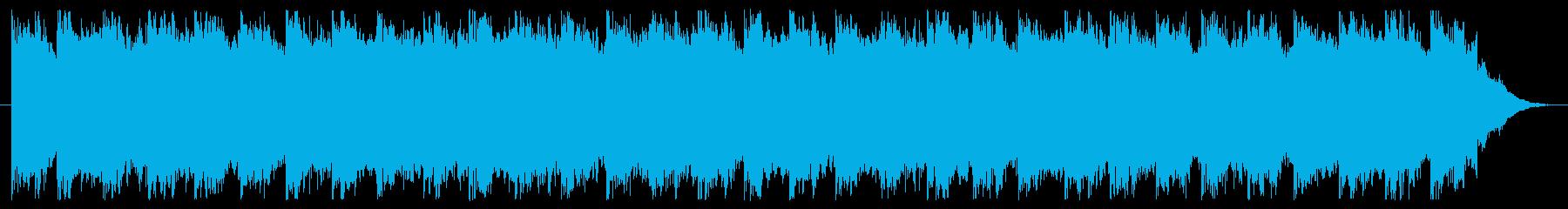 ブーン(サイレン、アラーム音)の再生済みの波形