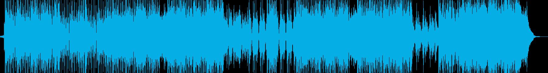 スリラーシンセ・テクノ ホルン有ギター無の再生済みの波形