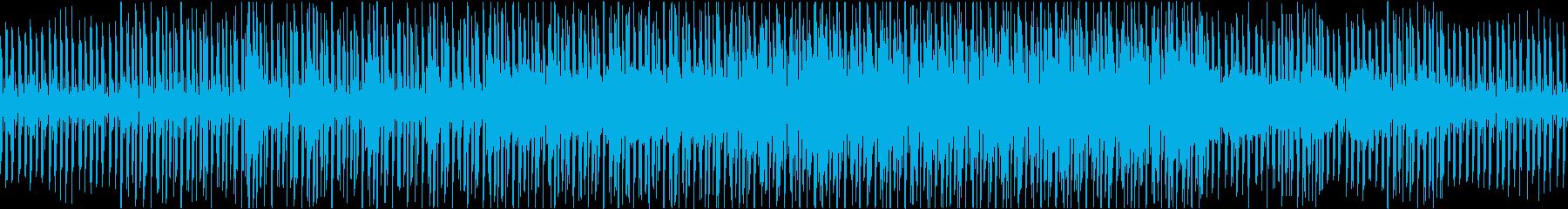 クールで落ち着いたチュートリアル_ループの再生済みの波形