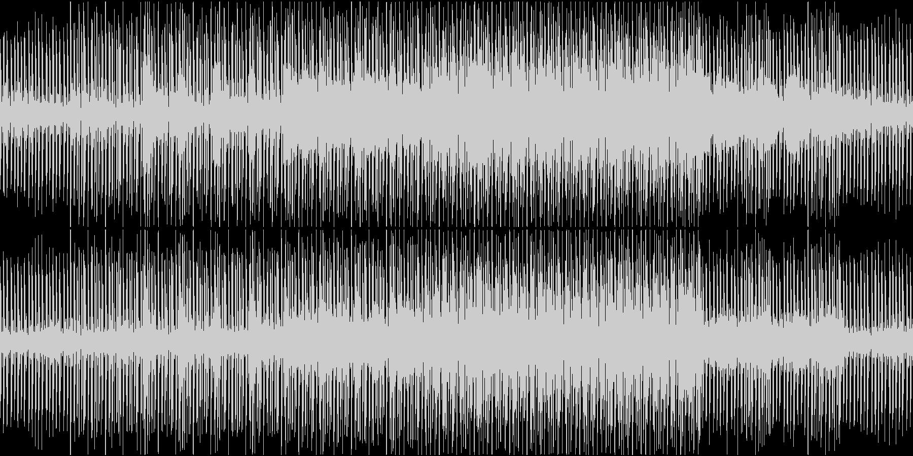 クールで落ち着いたチュートリアル_ループの未再生の波形