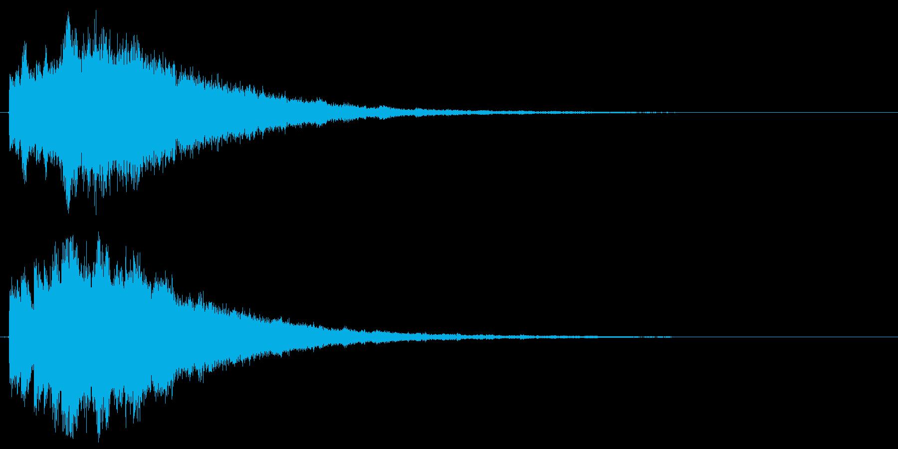 キラキラ♪クリア,達成,回復等に最適3の再生済みの波形