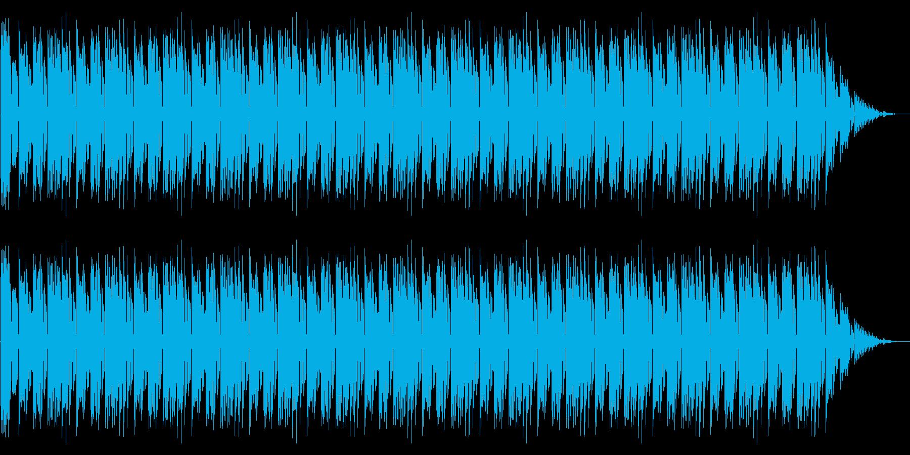 GB風RPGの勝利のファンファーレの再生済みの波形