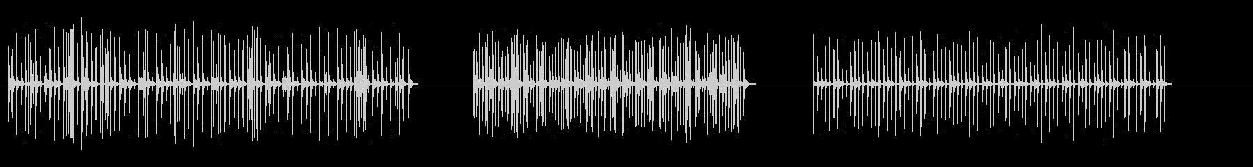 カチカチ音をたてる楽しいマシン-3...の未再生の波形