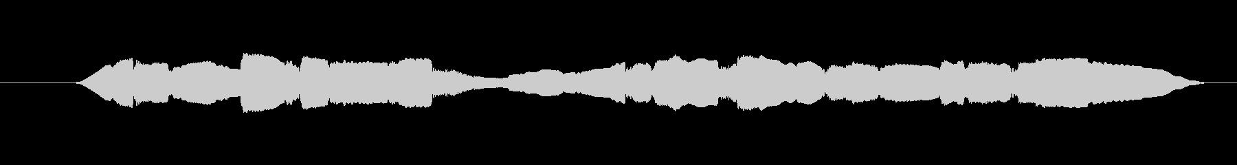 素材 オカリナランダムネスショート01の未再生の波形