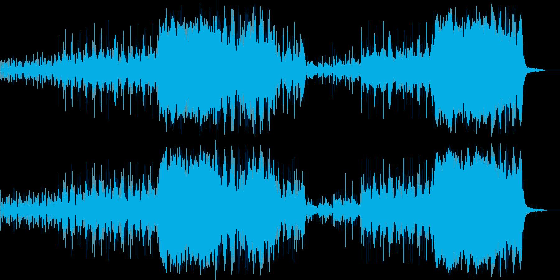 雄大なジャングルをイメージ、民族調BGMの再生済みの波形
