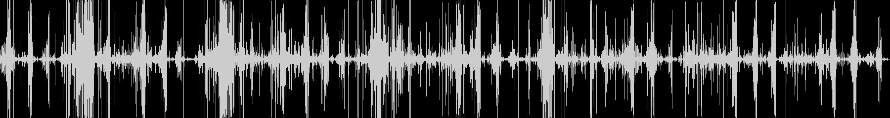 スライムをハサミで切る音です。の未再生の波形