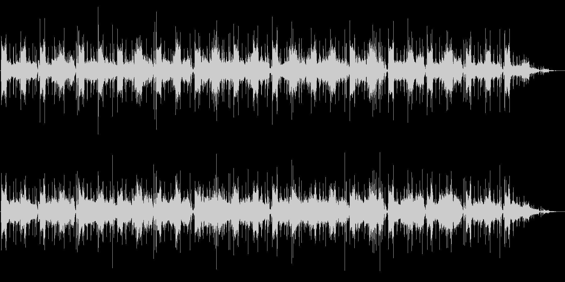 リラックスおしゃれなムード(バンド形式)の未再生の波形