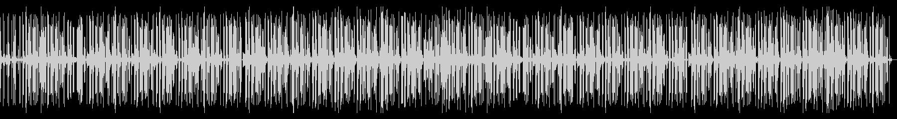 ポッドキャスト ローファイなヒップホップの未再生の波形