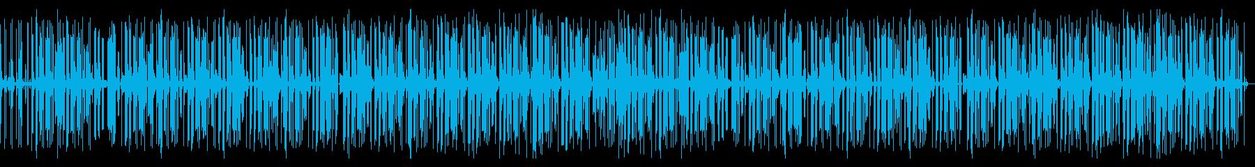 ポッドキャスト ローファイなヒップホップの再生済みの波形