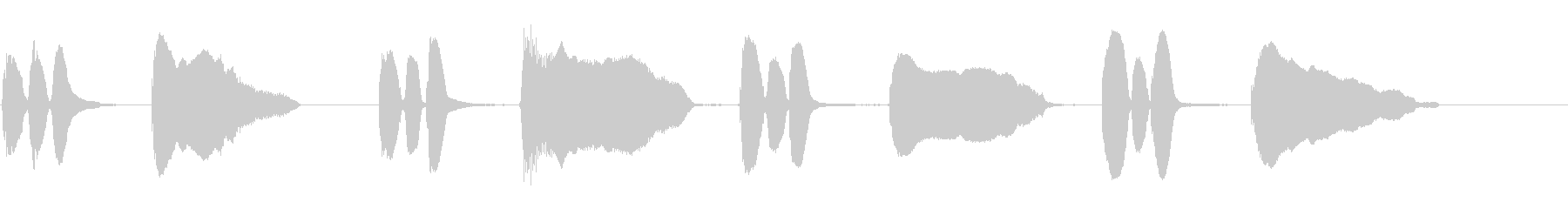 バイオリン:短いスライドでこっそり...の未再生の波形
