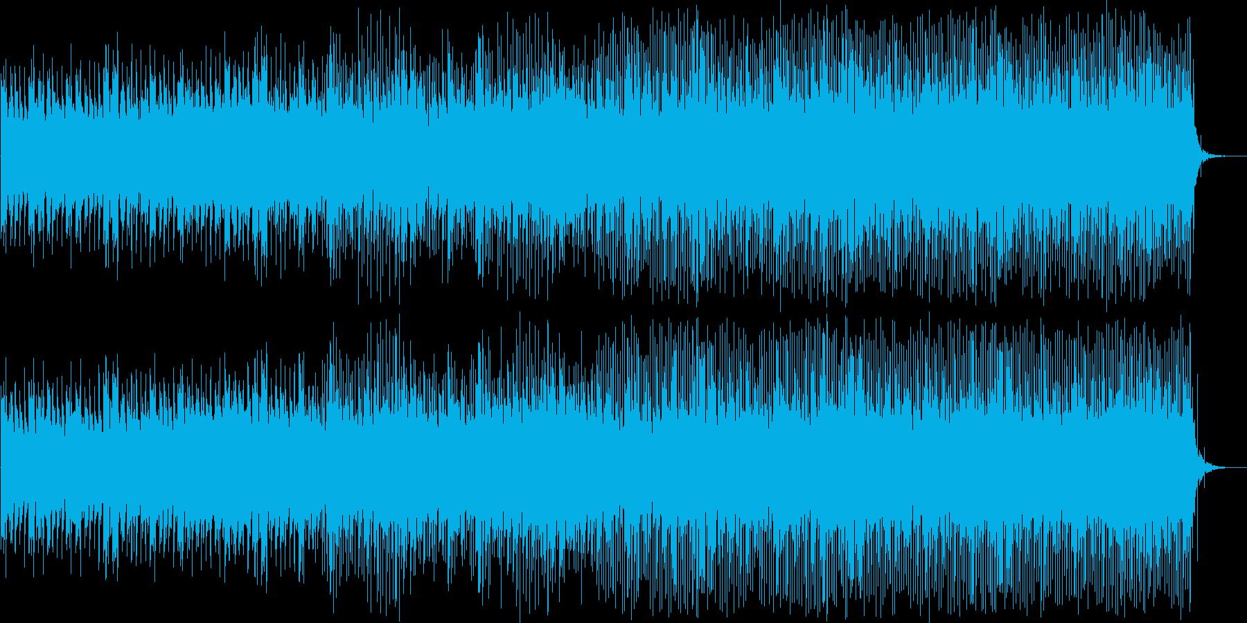 企業向け アンビエント調のテクノver2の再生済みの波形