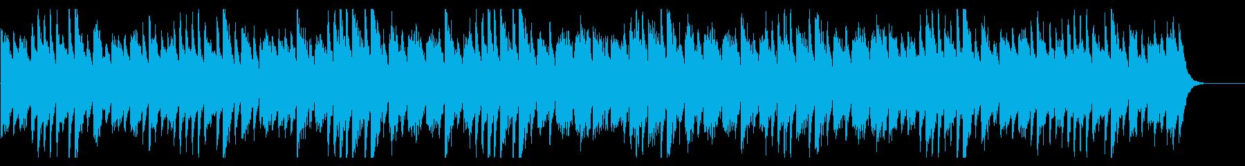 星空をイメージした三拍子の幻想的なピアノの再生済みの波形