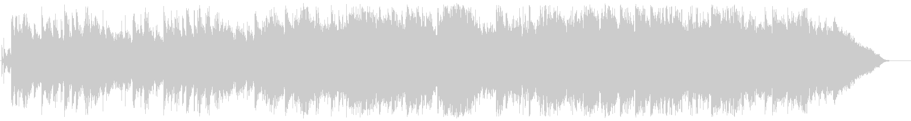 切ないドラマチックなBGMの未再生の波形