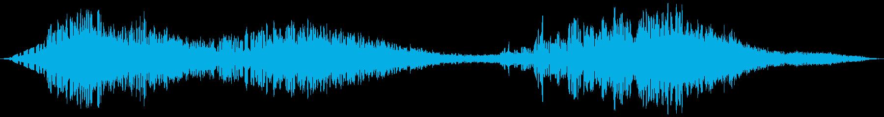 チャタリングボットの浸透の再生済みの波形