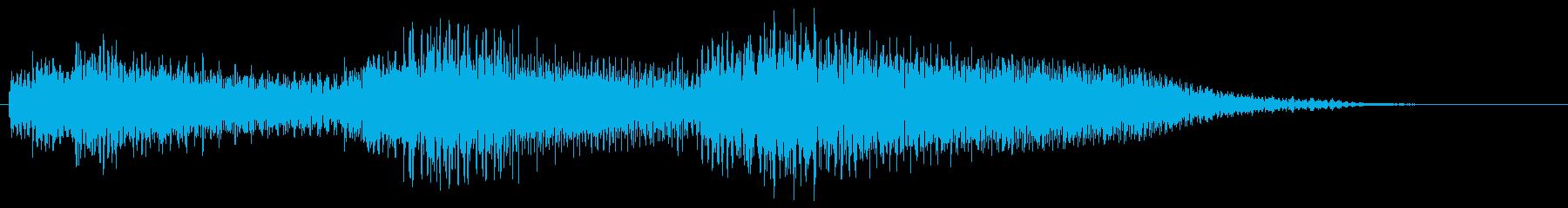 クラシックギター コード 場面転換の再生済みの波形