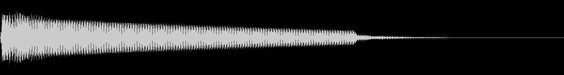 空気が張り詰めた時の音(演出)の未再生の波形