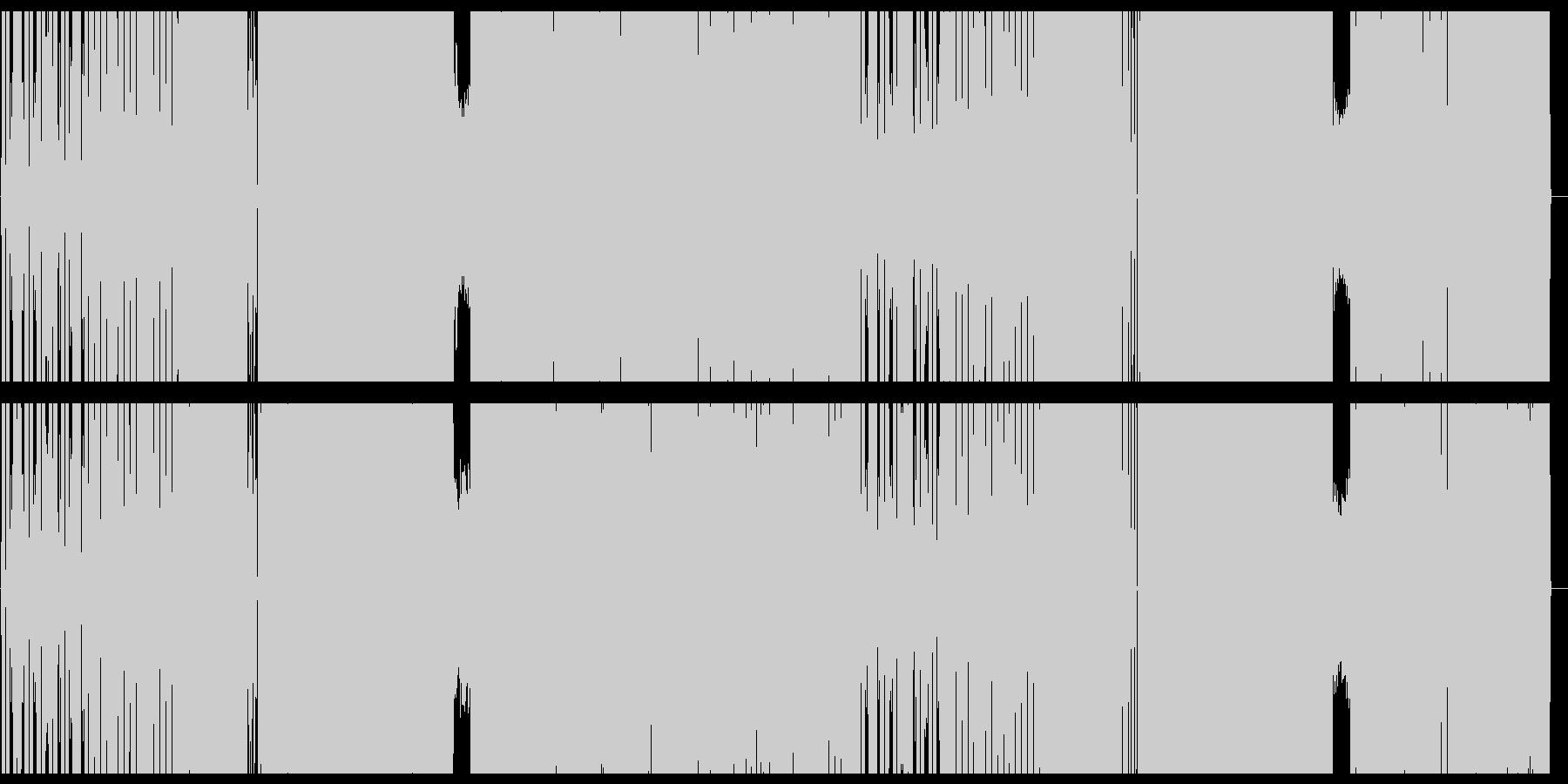 クールでアップテンポビートポップサウンドの未再生の波形