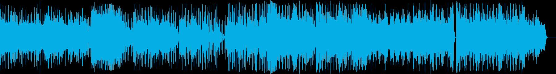 EDMエスニック生ヴァイオリン、生ボイスの再生済みの波形