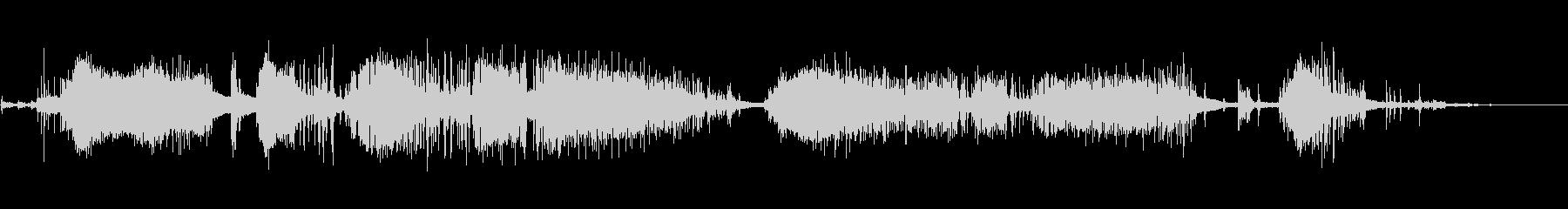 シングルプロップ:開始、ラフアイド...の未再生の波形