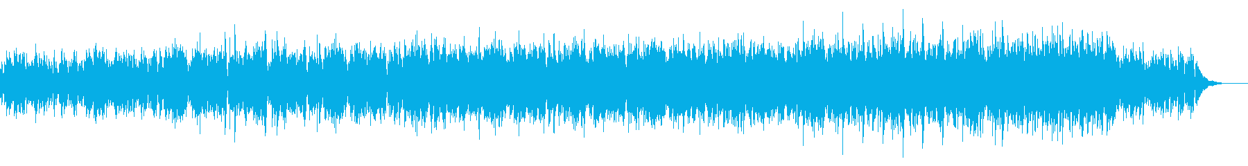 近未来クラシック調壮大癒しピアノCMVPの再生済みの波形