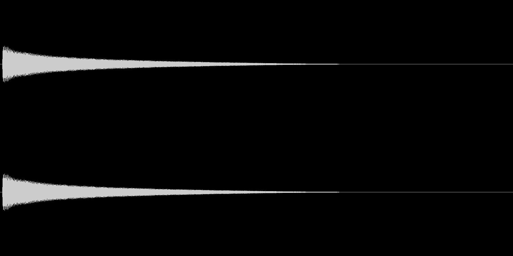 【チーン02-2】の未再生の波形