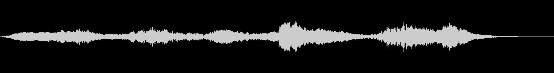 エリーハロウィンエフェクトの未再生の波形