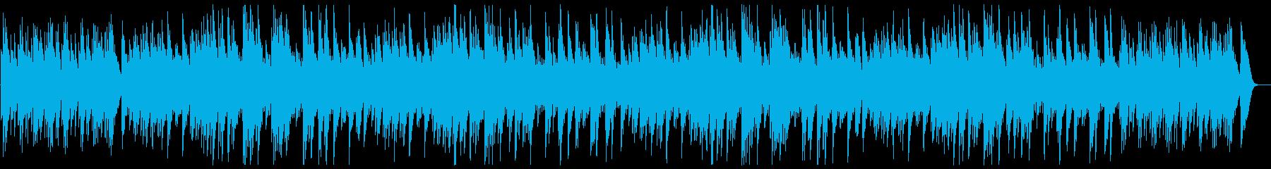 オルゴールで奏でる80年代ポップス風の再生済みの波形