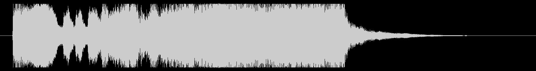 短いファンファーレ。冒険/競馬/結果発表の未再生の波形