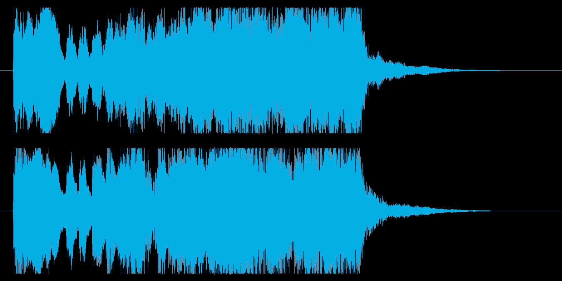 短いファンファーレ。冒険/競馬/結果発表の再生済みの波形