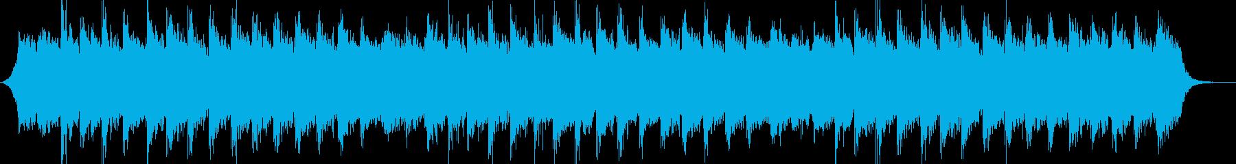 冷たく浮遊感のあるアンビエントの再生済みの波形