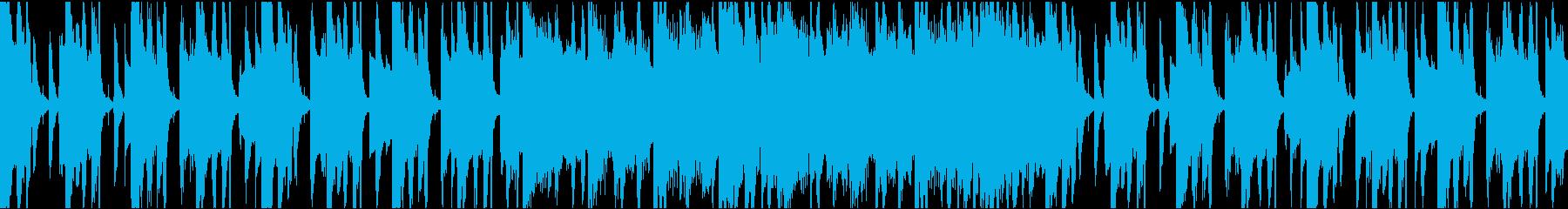 ゆったりコミカル/ループの再生済みの波形