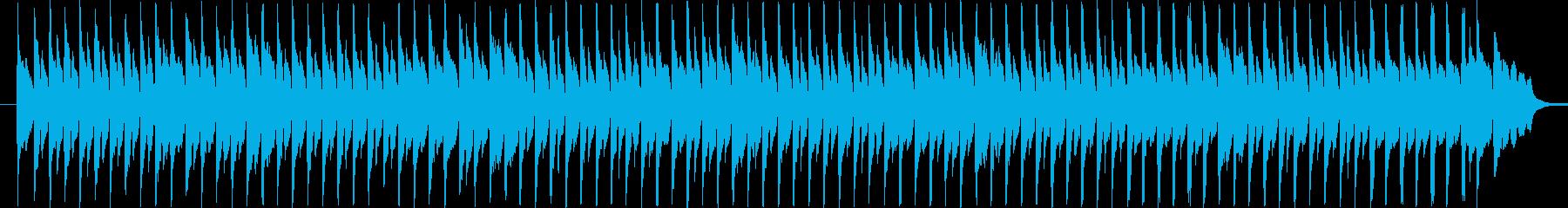 子供の動画向きのトイピアノ風BGMの再生済みの波形