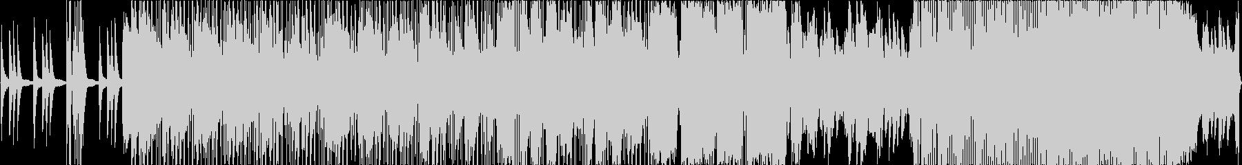 かっこいいオープニング的なエレクトロニカの未再生の波形