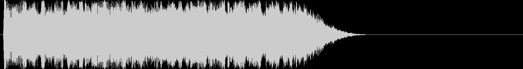 レベルアップ音・アイテム入手音の未再生の波形