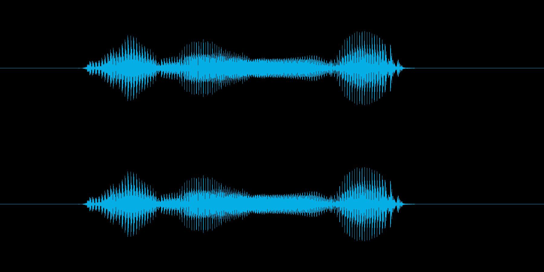 【年数】4年後の再生済みの波形