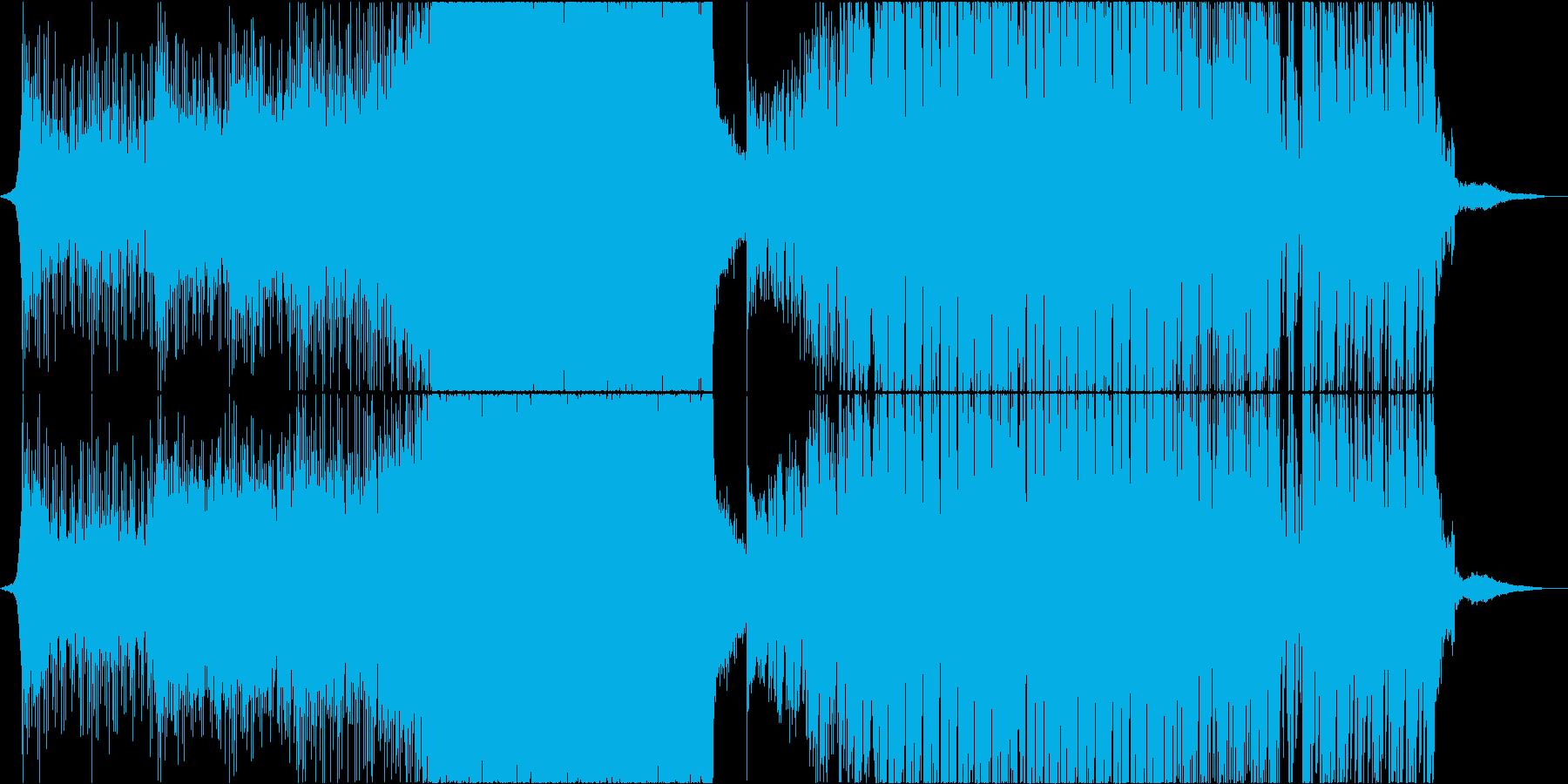 カノン 結婚式 アレンジ EDM ハウスの再生済みの波形