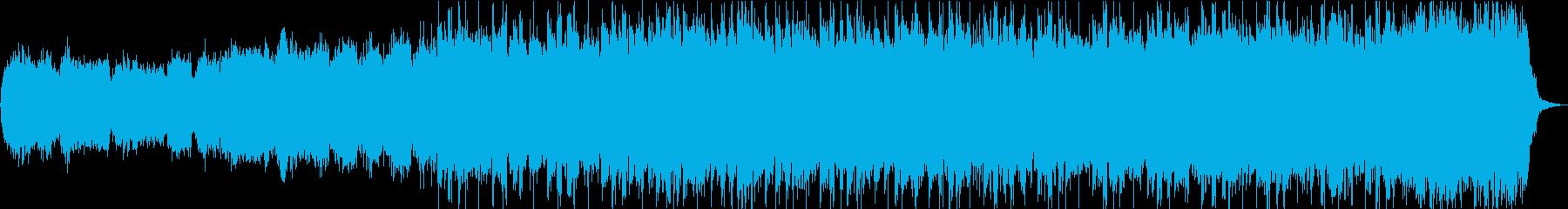 ストリングスをメインにした感動的なBGMの再生済みの波形