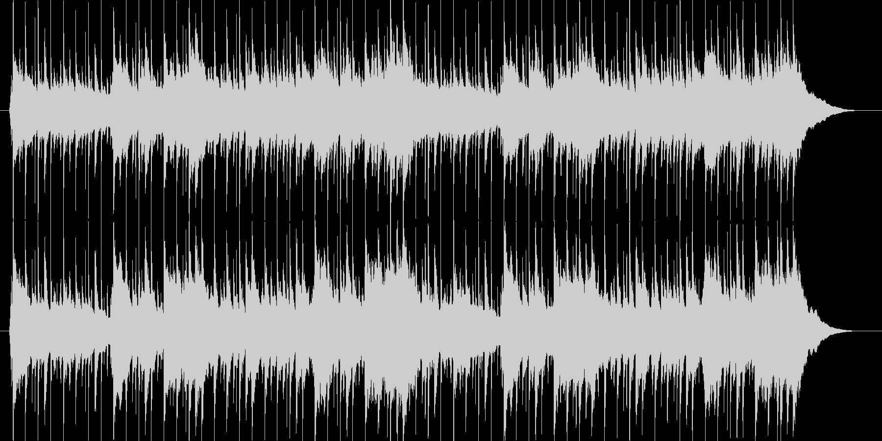 クラップがノリノリのアメリカ童謡の未再生の波形