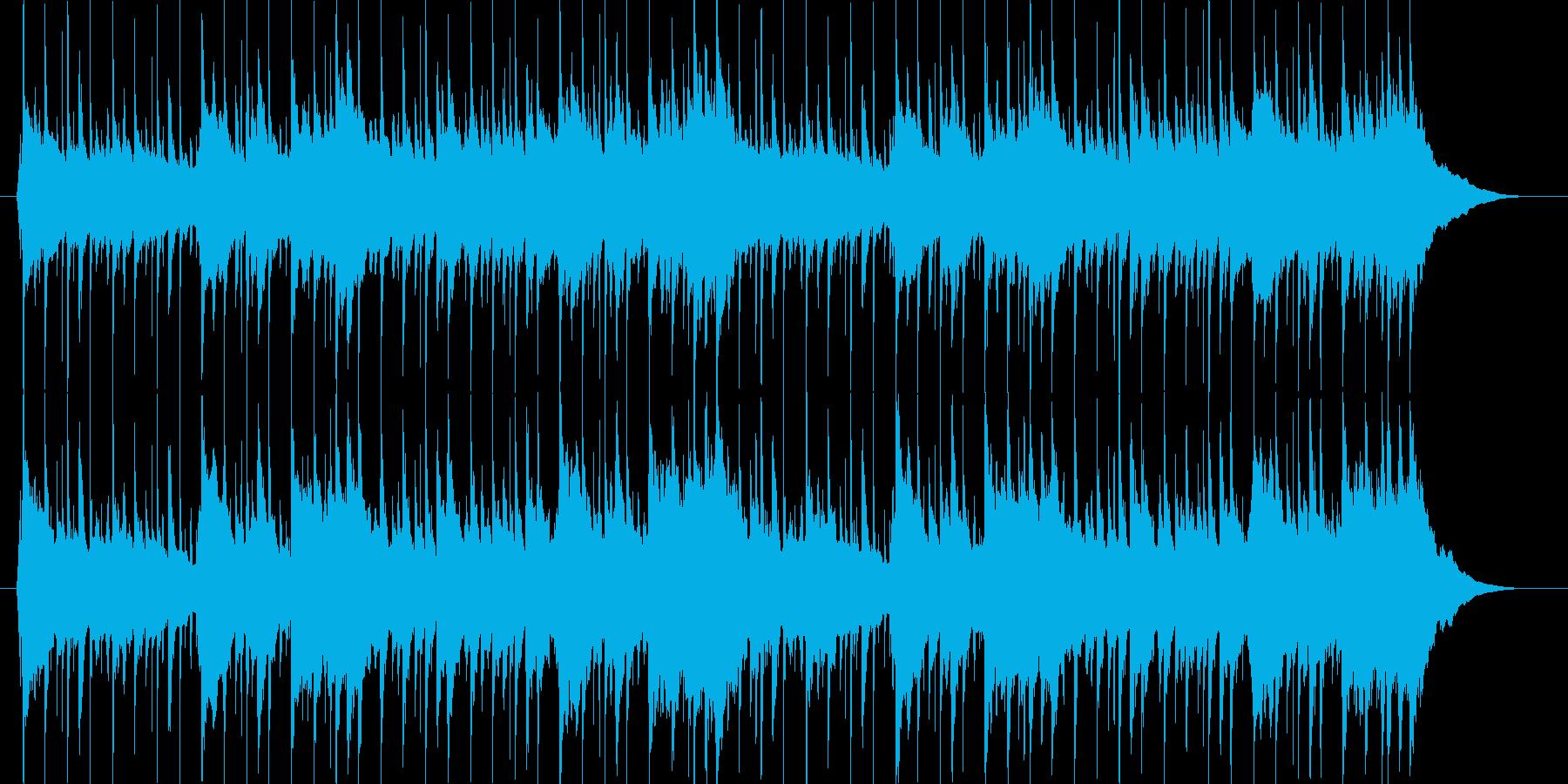 クラップがノリノリのアメリカ童謡の再生済みの波形