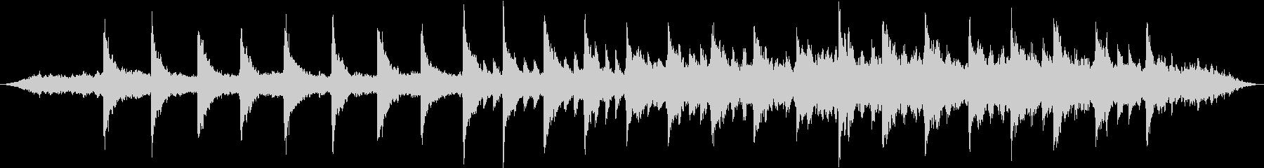 インターステラー風壮大なピアノBGMの未再生の波形