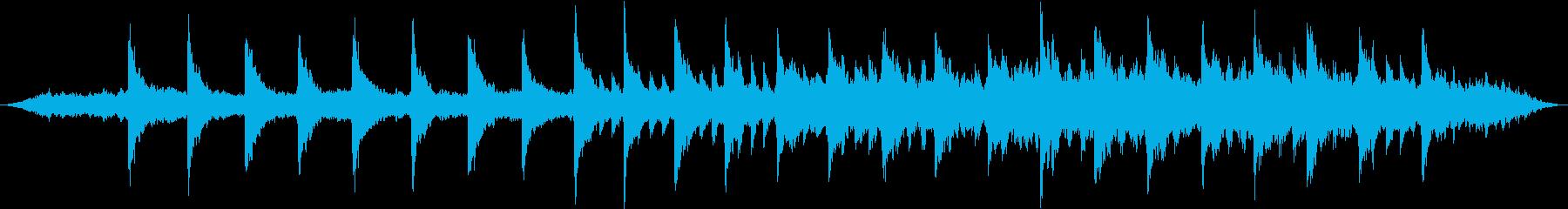 インターステラー風壮大なピアノBGMの再生済みの波形